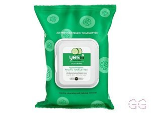 Cucumbers 30 Soothing Hypoallergenic Facial Wipes